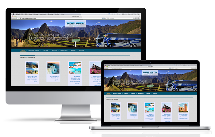 Website VDR & PETRI Turismo